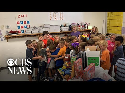 The Mo & Sally Show - Good News: Boy Who Lost Everything In House Fire Is Surprised By Classmates