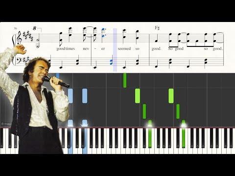 """sweet-caroline""---sheet-music-+-piano-tutorial---neil-diamond- -george-vidal"