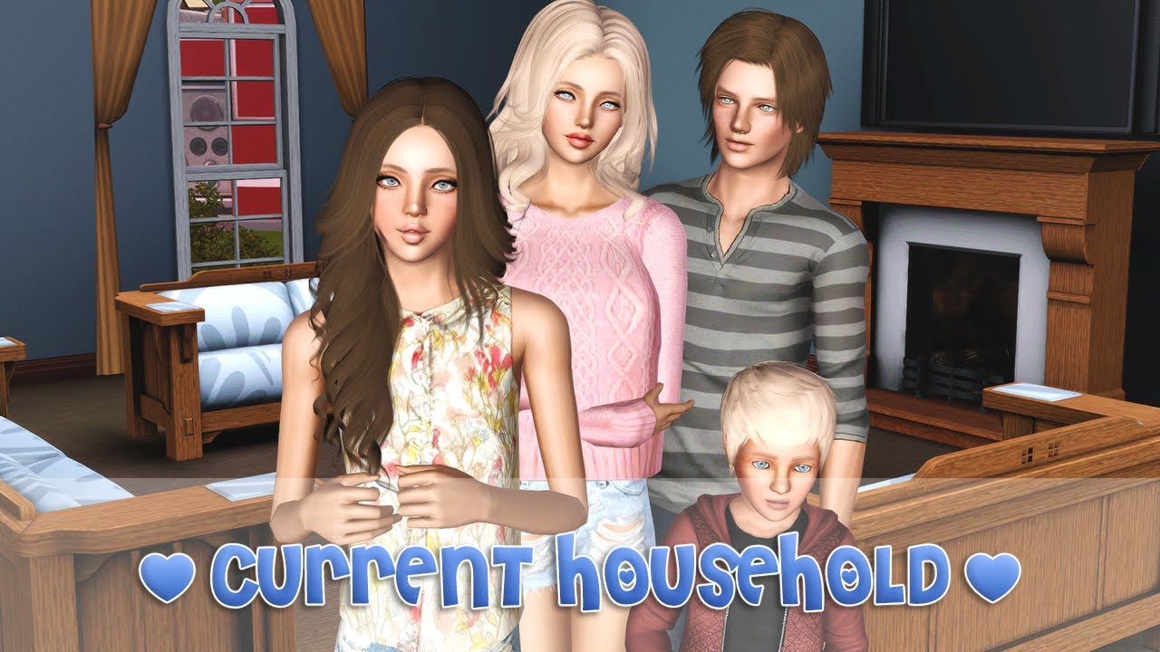 The Sims 3: Current Household | May 2014 - YouTube
