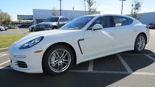 2014 Porsche Panamera 4S Executive Start Up, Exhaust, and In Depth Review