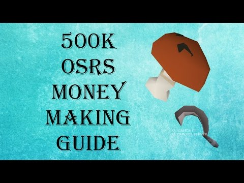 osrs how to make money