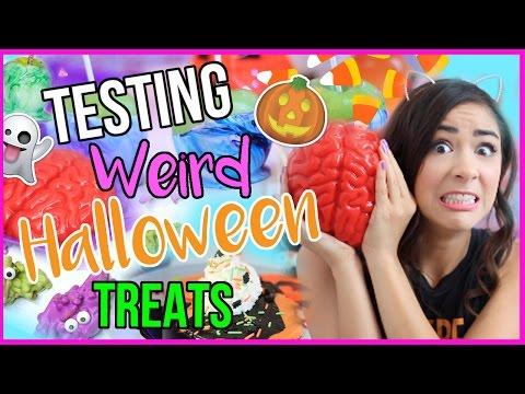 testing-weird-and-crazy-halloween-treats!