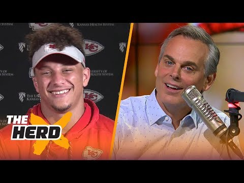 Patrick Mahomes On His 83-yard Pass, Learning From Alex Smith And Andy Reid | NFL | THE HERD