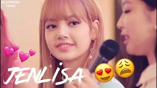 Jenlisa was acting weird at this fansign hmm. They did interact so ...