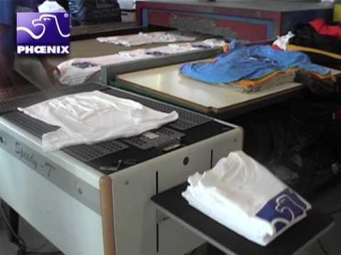 Camisetas serigrafia y doblar camisetas youtube - Estampar camisetas en casa ...