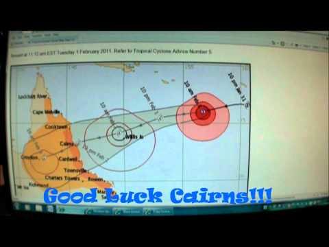 Cyclone Yasi Mackay Report 01/02/2011