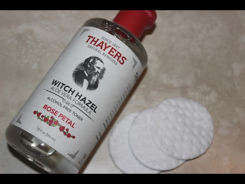 Thayer's Witch Hazel Toner Aloe Vera Formula Rose Petal