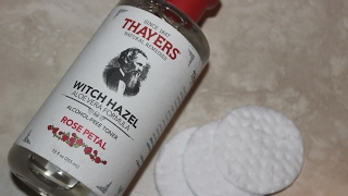 Thayer's Witch Hazel Toner Aloe Vera Formula Rose Petal