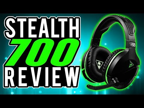 Turtle Beach STEALTH 700 REVIEW | XBOX ONE Wireless Bluetooth Surround Sound Gaming Headset