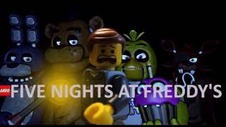 LEGO Five Nights At Freddy's Stopmotion Trailer