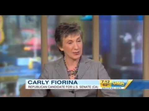 Carly on Good Morning America