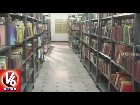 TRS Govt Focus On Development Of Libraries In State | Hyderabad | V6 News