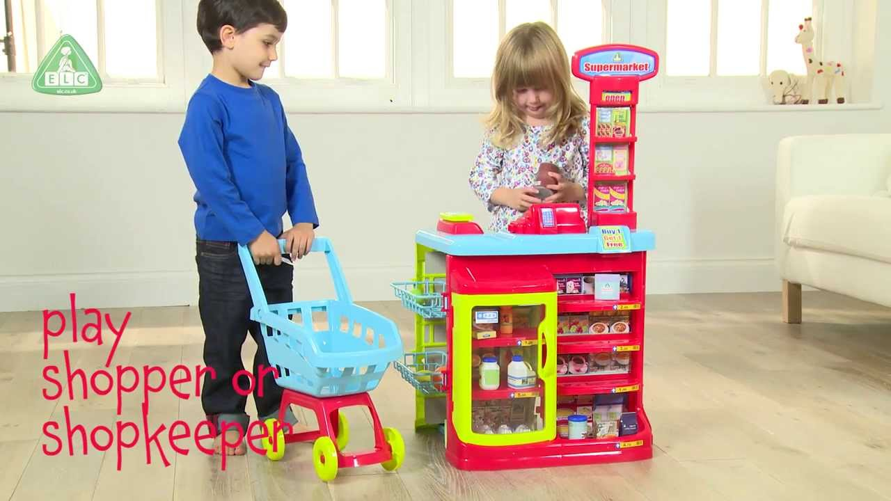 Early Learning Centre Supermarket And Trolley - YouTube