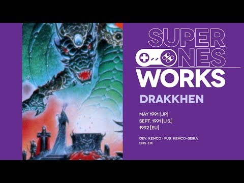 Drakkhen retrospective: Hak hak 'n slash | Super NES Works #007