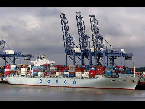 Cosco Dalian Container Ship for Merchant Navy