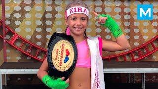 Most DANGEROUS Little Girl - Kira Makogonenko   Muscle Madness