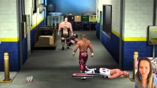 WWE2k Random Backstage HBKs vs Big Shows