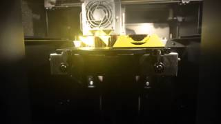 stratasys dimension fdm 3d printer time lapse