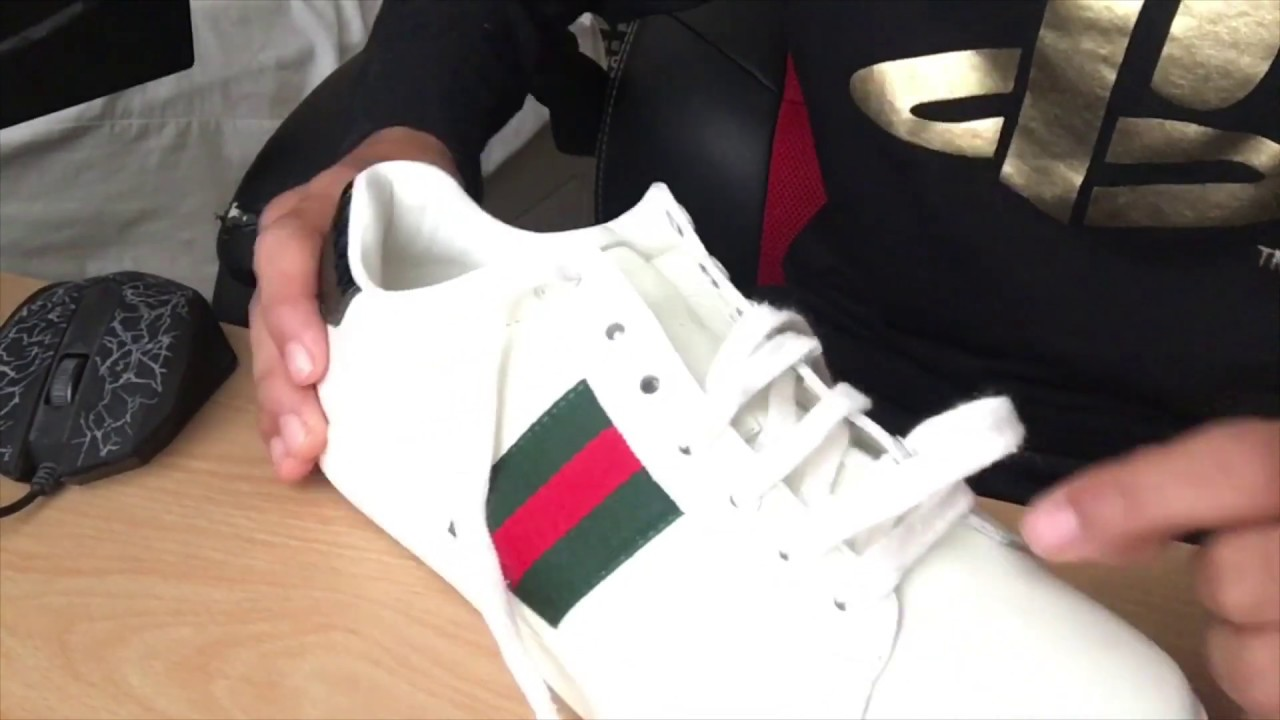 How to factory lace Gucci shoes - YouTube