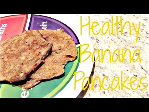 HEALTHY BREAKFAST FOR KIDS!   Banana Pancakes!