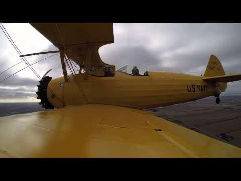 WSO's Robert Franz Takes Flight - Boeing Stearman @ CH2A