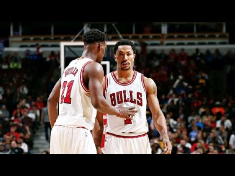 NBA 2K15 Jimmy Butler & Derrick Rose 2015.01.10-Total 46Pts