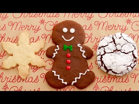 3 GIANT Single-Serving Christmas Cookies - Gemma's Bigger Bolder Baking Ep 103
