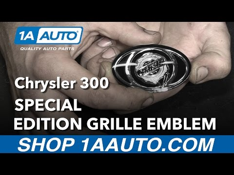 How to Install Special Edition Grille Emblem 05-10 Chrysler 300