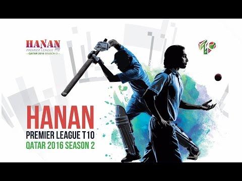 Nilesh (Alliance Al Muzain)  Batting in Hanan Premier League T10, Qatar 2016
