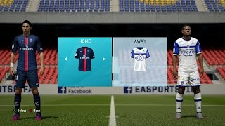 FIFA 16 - Ligue 1 Ratings & Kits