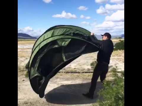 FiveJoy 4-Person Instant Pop-Up Tent (set up in 2 seconds) & FiveJoy 4-Person Instant Pop-Up Tent (set up in 2 seconds) - YouTube