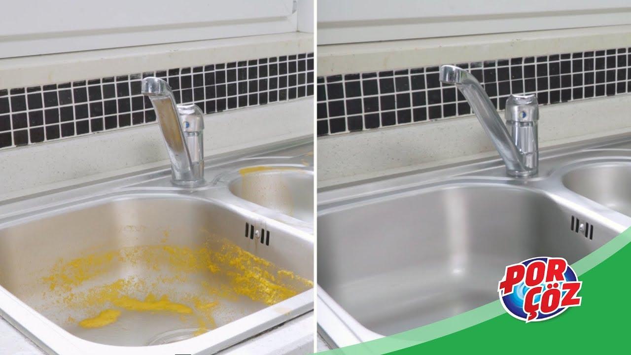 Mutfak Lavabosu Nasıl Temizlenir