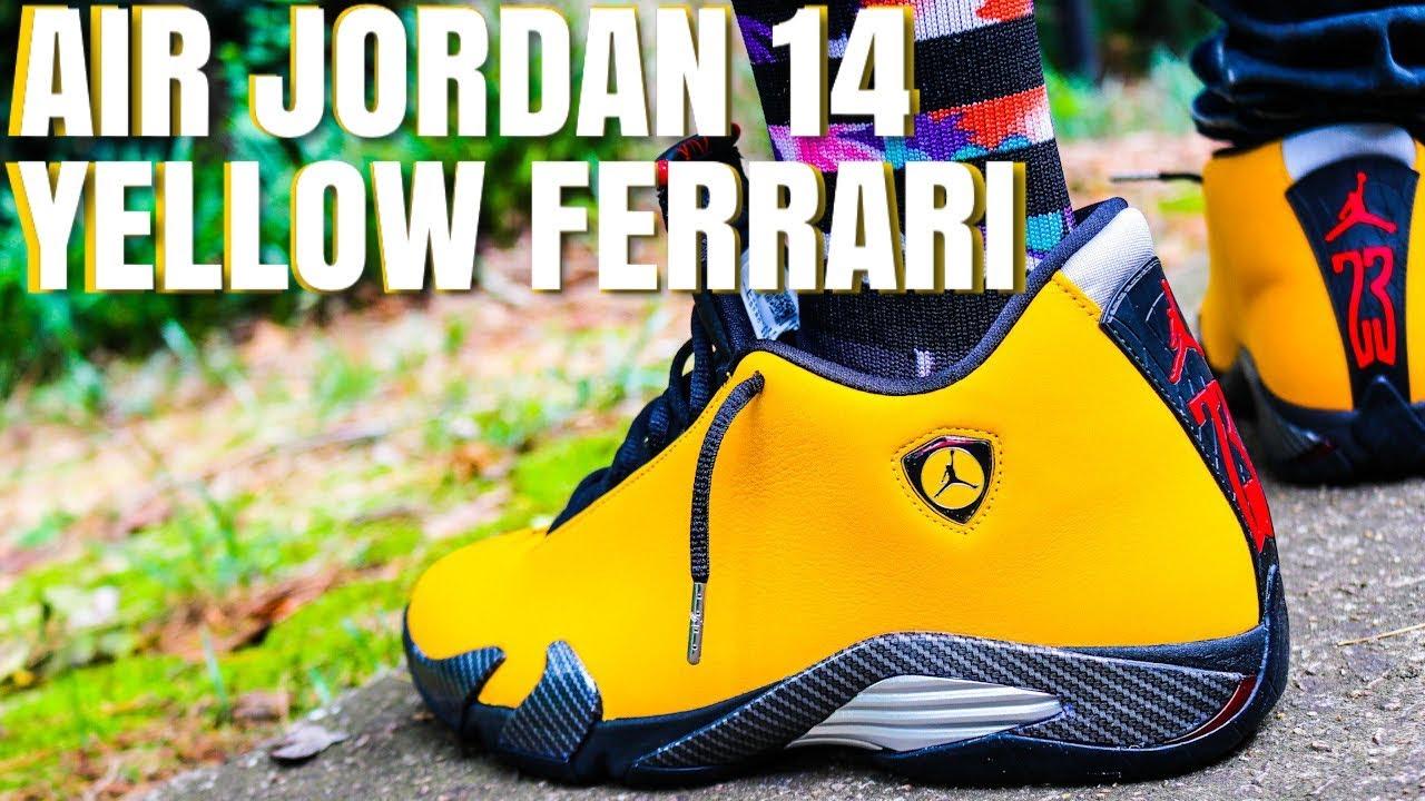 AIR JORDAN 14 YELLOW FERRARI AKA