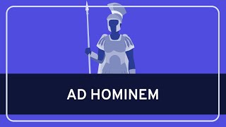 Critical Thinking Fallacy: Ad Hominem Thumbnail