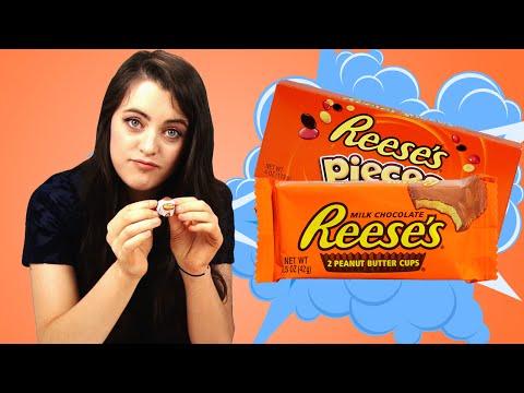 Irish People Taste Test Reese's Candy