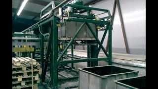 Производство пеноблоков(Технологическая линия ФПБ 2000 предназначена для производства неавтоклавного фибропенобетона на основе..., 2013-01-28T16:36:51.000Z)