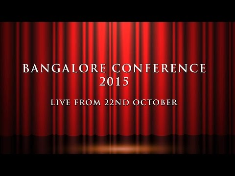 Bangalore Conference - 2015: Day 4: Session - 1