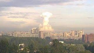Взрыв в центре Донецка,покушение на Захарчинко