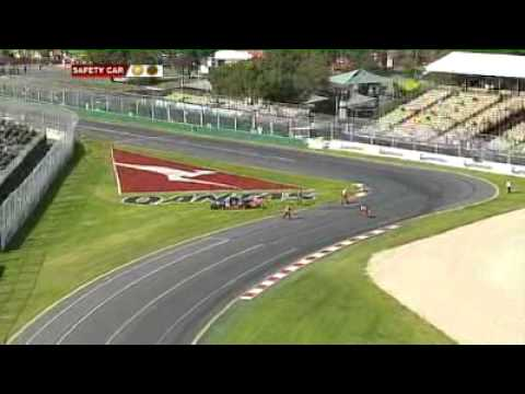 F1 Australian Grand Prix Race 1 Part 1- 2010 Vodka O Australian GT Championship