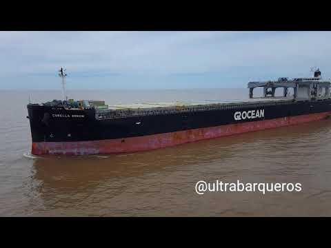 "General Cargo Ship ""BBC RIO GRANDE"" #PuntaIndioChannel #RioDeLaPlata #Argentina 13th. December 2017"