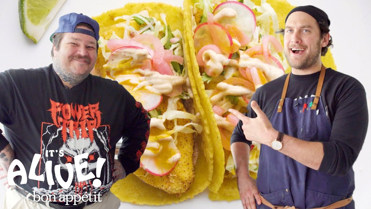 Brad and Matty Matheson Make Fish Tacos | It's Alive | Bon Appétit image