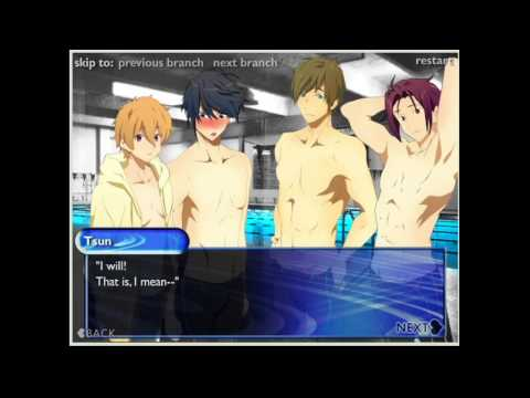 Swimming anime dating simulation games