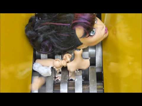 Shredding Monster High Dolls