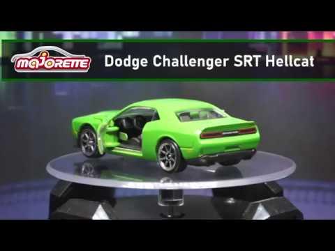 MAJORETTE DODGE CHALLENGER SRT HELLCAT New wheels PREMIUM CARS 2018