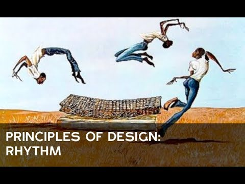 Principles Of Design Rhythm Youtube