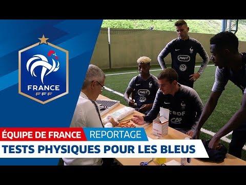 Equipe de France : Matinée de tests pour les Bleus I FFF 2018