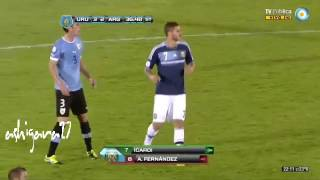 Única jugada que participó Icardi en la Selección Argentina