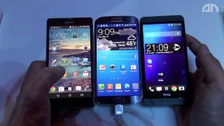 Samsung Galaxy S4 vs. HTC One vs. Sony Xperia Z -Vergleich der Displays - androidnext.de