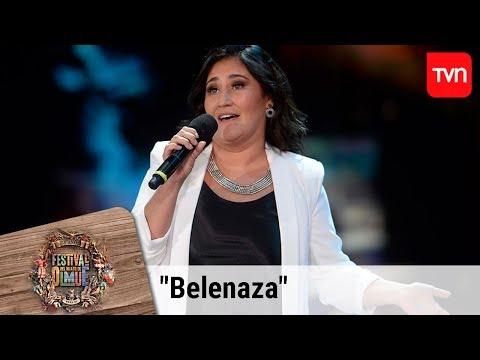 Revive la rutina completa de Belén 'Belenaza' Mora en el Festival de Olmué