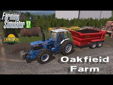 Farming Simulator 17 | Oakfield Farm | compost spreading of sorts